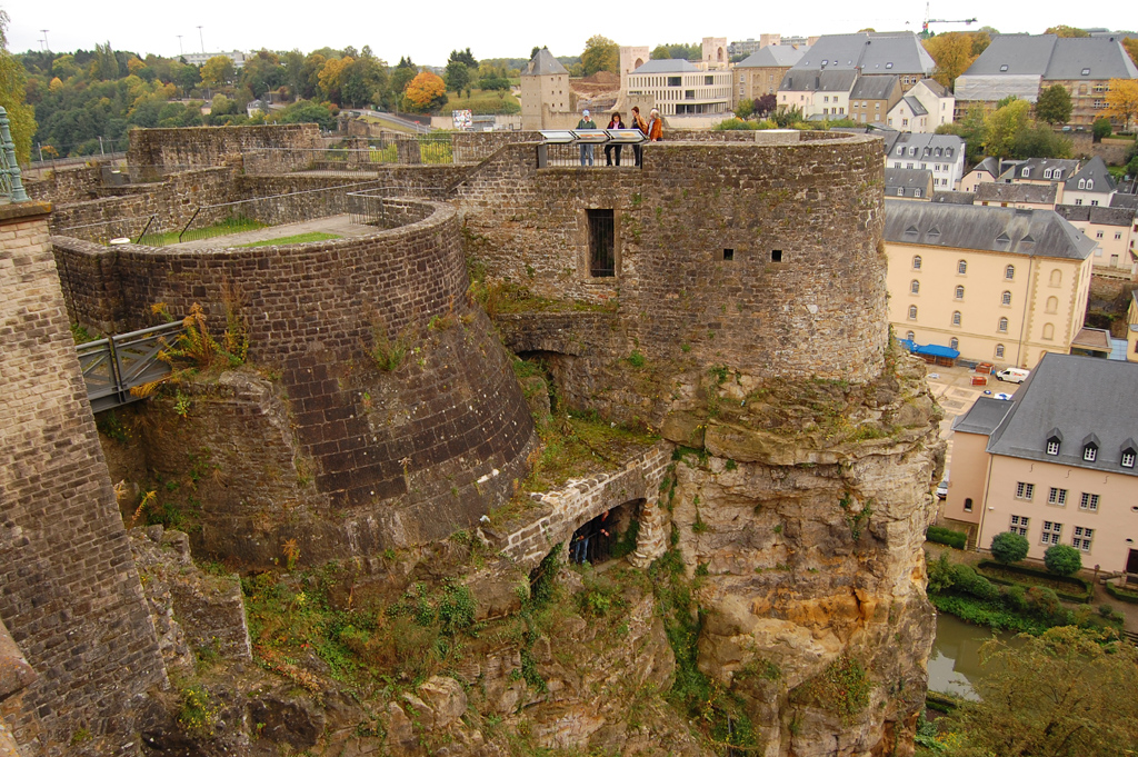 Luxemburg Stadstour Bock Casemates