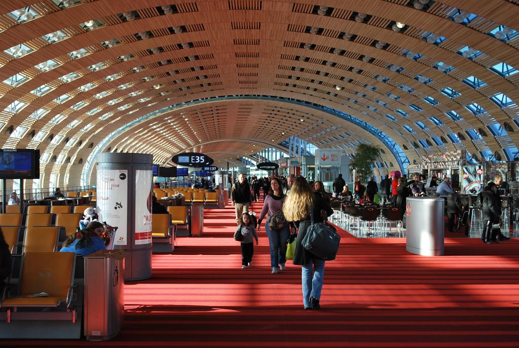 Paris Airport Terminal