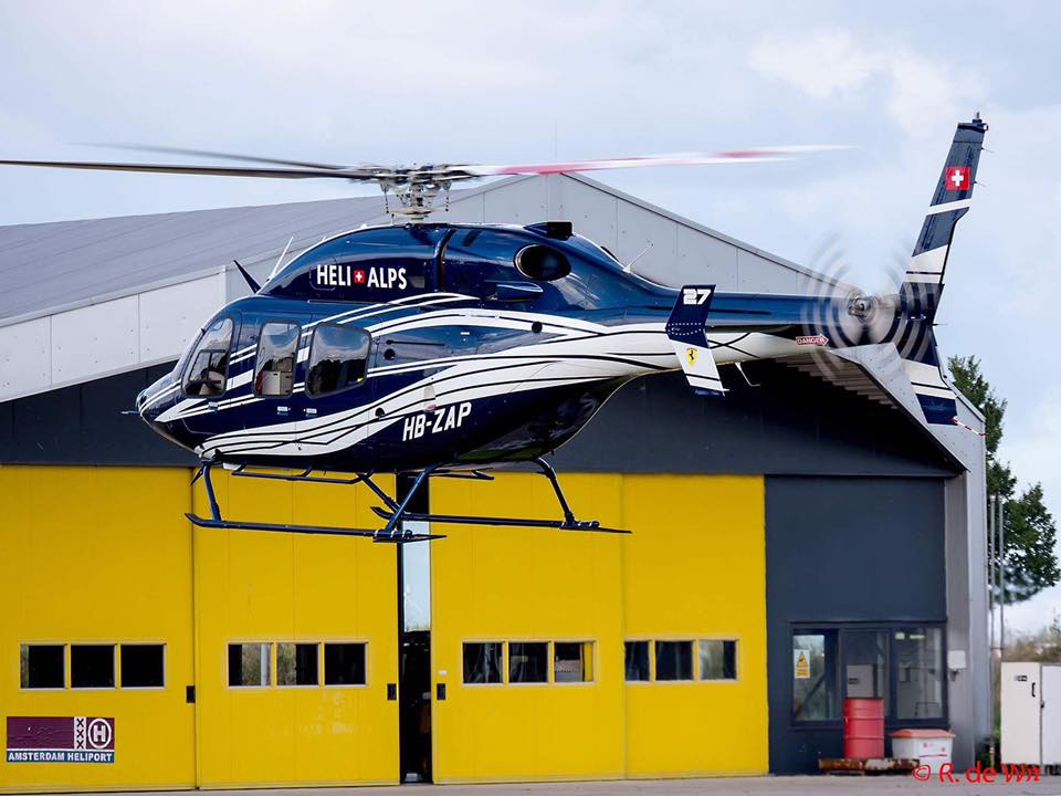 Taxi Amsterdam Heliport
