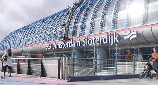 Amsterdam Sloterdijik Station